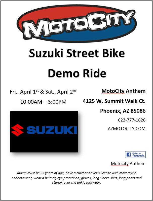 Demo Ride